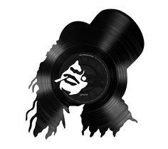 Vinyl Slash Icons