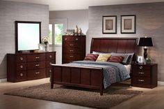 Argonne Queen 5 Piece Wooden Modern Bedroom Set| Affordable Modern Furniture in Chicago