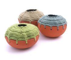 Ceramicas tejidas, voor als je wilt doorbreien op je schaaltje