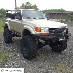 #Repost @yotamafia . ・・・ If you have 11k and want one of the baddest daily driving buildable  off road rigs on the planet hit up @ronniemule #fzj80  Keep sending in your pictures for a chance to get featured! 〽#YotaMafia  Kik PastV2 or yota_196  @yota_nation  @yota_prerunners  @ecg_fabrication  @digidiodes