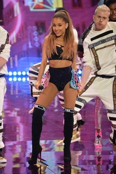 Ariana Grande at VS Fashion Show