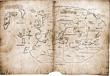 """The Vinland map is claimed to be a 15th-century mappa mundi with unique information about Norse exploration of North America. It is very well known because of the publicity campaign which accompanied its revelation to the public as a """"genuine"""" pre-Columbian map in 1965. I"""