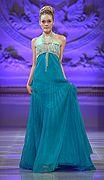 Lourdes Atencio Couture Modewoche #Herbst2013 #modewoche #couturemodewoche #mode #lourdesatencio #laufsteg #stylish #kleid #model #modewochenewyork #newyorkmode couturefashionweek.com