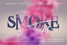 Smoke Toolkit by Cruzine on @creativemarket