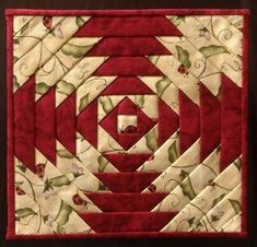 New patchwork quilt blocks appliques ideas Modern Quilting Designs, Modern Quilt Patterns, Machine Quilting Designs, Quilt Block Patterns, Quilt Blocks, Pineapple Quilt Pattern, Heart Quilt Pattern, Log Cabin Patchwork, Log Cabin Quilt Pattern