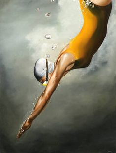 Diver by Eric Zener presented by Hespe Gallery