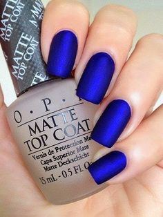 SO obsessed with the matte nails! COOL! #beautychat