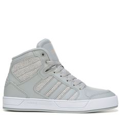 huge discount 427e5 8a714 Adidas Women s Neo Raleigh High Top Sneakers (Greywhite) - 11.0 M Adidas  High Tops
