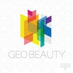 geometric beauty logo