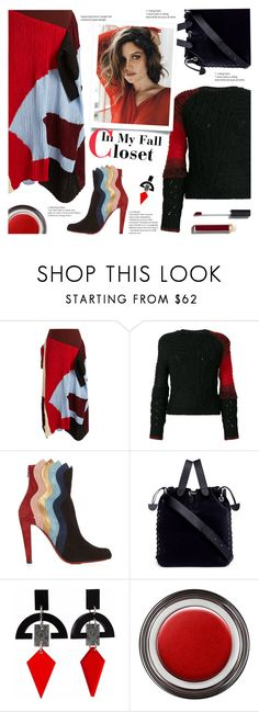 """""""In my Fall Closet"""" by sara-cdth ❤ liked on Polyvore featuring Roksanda, Helmut Lang, Christian Louboutin, Meli Melo, Toolally, John Lewis and Chanel"""