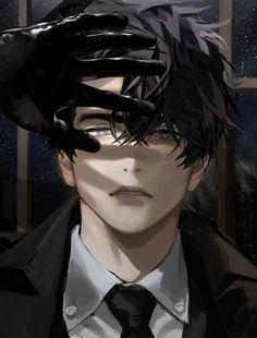 Dark Anime Guys, Cool Anime Guys, Hot Anime Boy, Handsome Anime Guys, Anime Sexy, Anime Boys, Bakugou Manga, Manga Boy, Male Manga