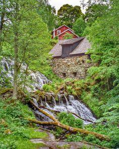 Röttle, nearby Gränna, Jönköping Municipality, at eastern shores of the lake Vättern, Sweden