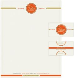 Tasty Beverage Company Business Cards & Letterhead