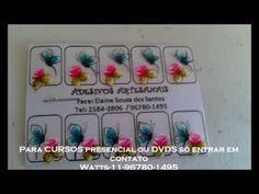 Passo a passo flor CARGA DUPLA Elaine Souza) - YouTube