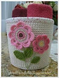 Resultado de imagem para portamacetas trapillo crochet