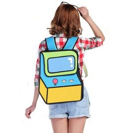 The Arcade 2D Backpack