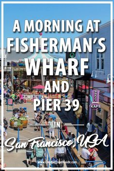San Francisco is full of iconic landmarks: the Golden Gate Bridge, Alcatraz, Lombard Street, the Painted Ladies. But for me, I always remembered a teacher of mine showing us photographs of the sea lions sprawled over wooden planks floating in the sea. Nothing beats a visit to Fisherman's Wharf and Pier 39.