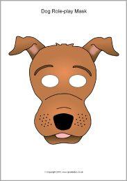 Dog Role Play Masks SB9942