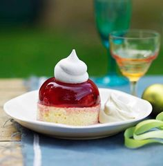 Jelly and Cake and Cream - cute!