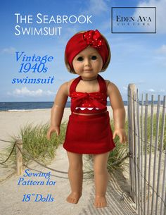 Eden Ava Couture The Seabrook Swimsuit Sewing by EdenAvaCouture, $5.99
