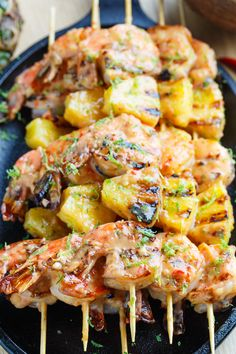 Grilled Coconut and