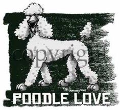 Poodle Love Dog