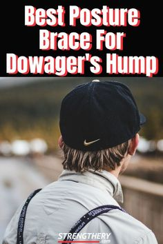 Do you have an unwanted hump in your upper back? Time and effort is needed to reverse it, but chances are that the best brace dowager's hump could be helpful! Posture Correction Exercises, Posture Exercises, Better Posture, Bad Posture, Back Hump, Upper Back Support, Weight Training For Beginners, Posture Collar, Posture Corrector