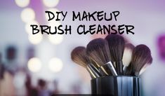 best=Super Cheap DIY Makeup Brush Cleanser Sheryail Marie , An engrossing 2020 prom gown is usually a long flowing dress usually worn to a formal affair showing the elegant and ethereal. How To Wash Makeup Brushes, Diy Makeup Brush, Makeup Brush Holders, Face Makeup Kit, Eye Makeup, Clean Makeup, Eyeshadow Crease, Brush Cleanser, Baby Shampoo