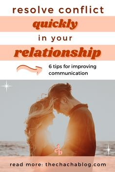 Relationships aren't easy. They're not supposed to be. Here's how to resolve conflict and improve communication to effectively grow together. Realtionships, relationship advice, relationship goals, relationship questions, marriage advice, marriage tips, communication, personal development, self growth, communication relationship, communication skills.
