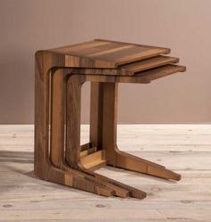 Zigon Coffee Table Set Models Prices - Vivense Mobilya - Different Ideas 3 Piece Coffee Table Set, Coffe Table, Table Centers, Center Table, Deco Furniture, Modern Furniture, Teak Table, Minimalist House Design, Nesting Tables