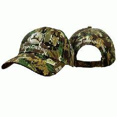 76243d92f67f1 John Deere Men s Camouflage Leaves Hat
