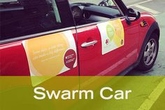 The #LittleThings Project Tour: Swarm Car