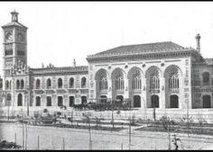 La estación de Toledo.Es el mayor avance de la ciudad de toledo fue su comunicación por ferrocarril a madrid