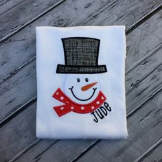 Hey, I found this really awesome Etsy listing at https://www.etsy.com/listing/497510503/boys-snowman-shirt-snowman-with-scarf
