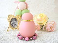 かわいいピンクの分骨骨壷パステル