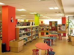 Sala infantil, muy luminosa #bibliotecas