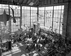 Alexander Calder | 27 Inspiring Portraits Of Famous Artists In Their Creative Zone