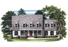 Chartwell - Home Plans and House Plans by Frank Betz Associates  #chartwell  #homeplans #frankbetz #floorplans #frenchcolonial