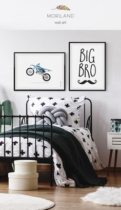 Bedroom Hipster Room Decor 25 Ideas For 2019 Boy Toddler Bedroom, Big Boy Bedrooms, Kids Bedroom, Gray Boys Rooms, Boys Shared Bedroom Ideas, Little Boy Bedroom Ideas, Hipster Bedrooms, Toddler Rooms, Boy Rooms