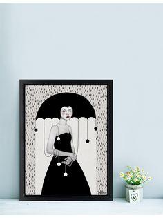 Illustration Rainy Minta by Sofia Bonati