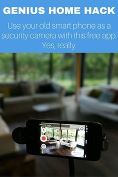 These free apps work on iOS and Android, letting you turn any old phone into a security camera with motion alerts and two-way audio - for FREE. Amazing, right?
