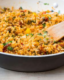 COOL & MINTY: RYŻ Z WARZYWAMI Aga, Fried Rice, Food To Make, Good Food, Chinese, Favorite Recipes, Vegetables, Cooking, Ethnic Recipes