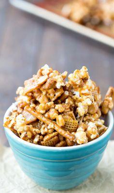 Caramel Crunch Popco