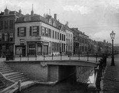 De Driftbrug over de Drift te Utrecht: wish the steps were still there. Not as pretty now.