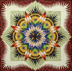 The Reclaimed West - Prairie Star quilt pattern by Judy Niemeyer for Timeless Treasures