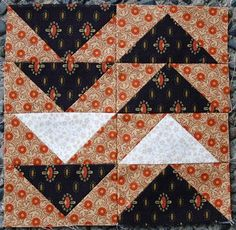 "The Monitor    Block from the book ""The Civil War Love Letter Quilt"