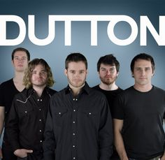 Dutton. Ha! Old photo. Love these guys!