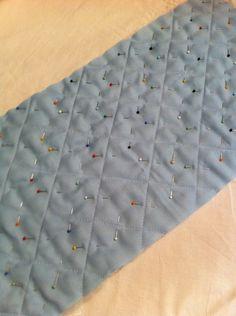 Tutoriel : Apprendre à molletonner/matelasser du tissu