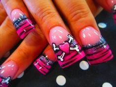 This is an awsome valentines nail idea for me!!!!!