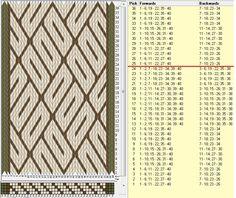 40 tarjetas, 3 colores, repite cada 24 movimientos // sed_986 diseñado en GTT༺❁
